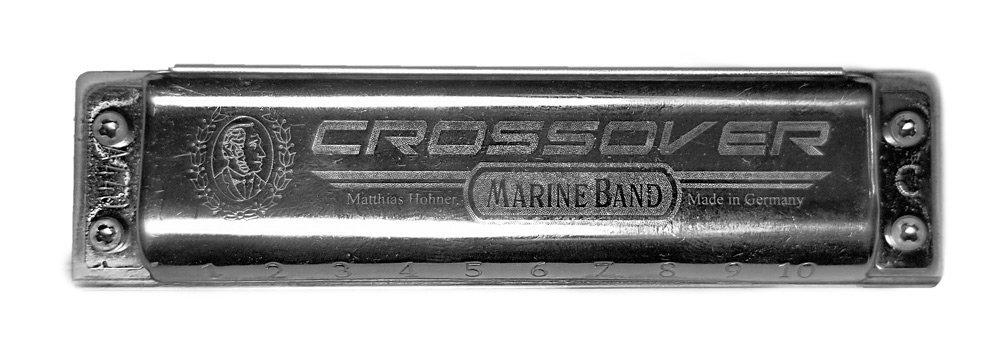 Diatonic harmonica top