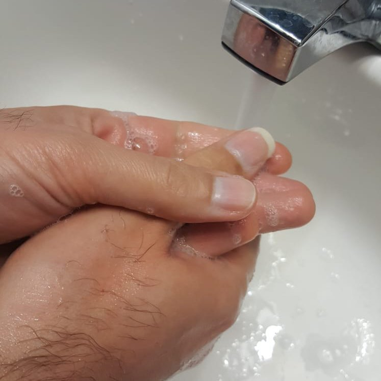 Wash your hand before practice