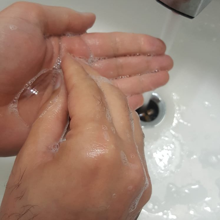 Wash your hand for 20 second